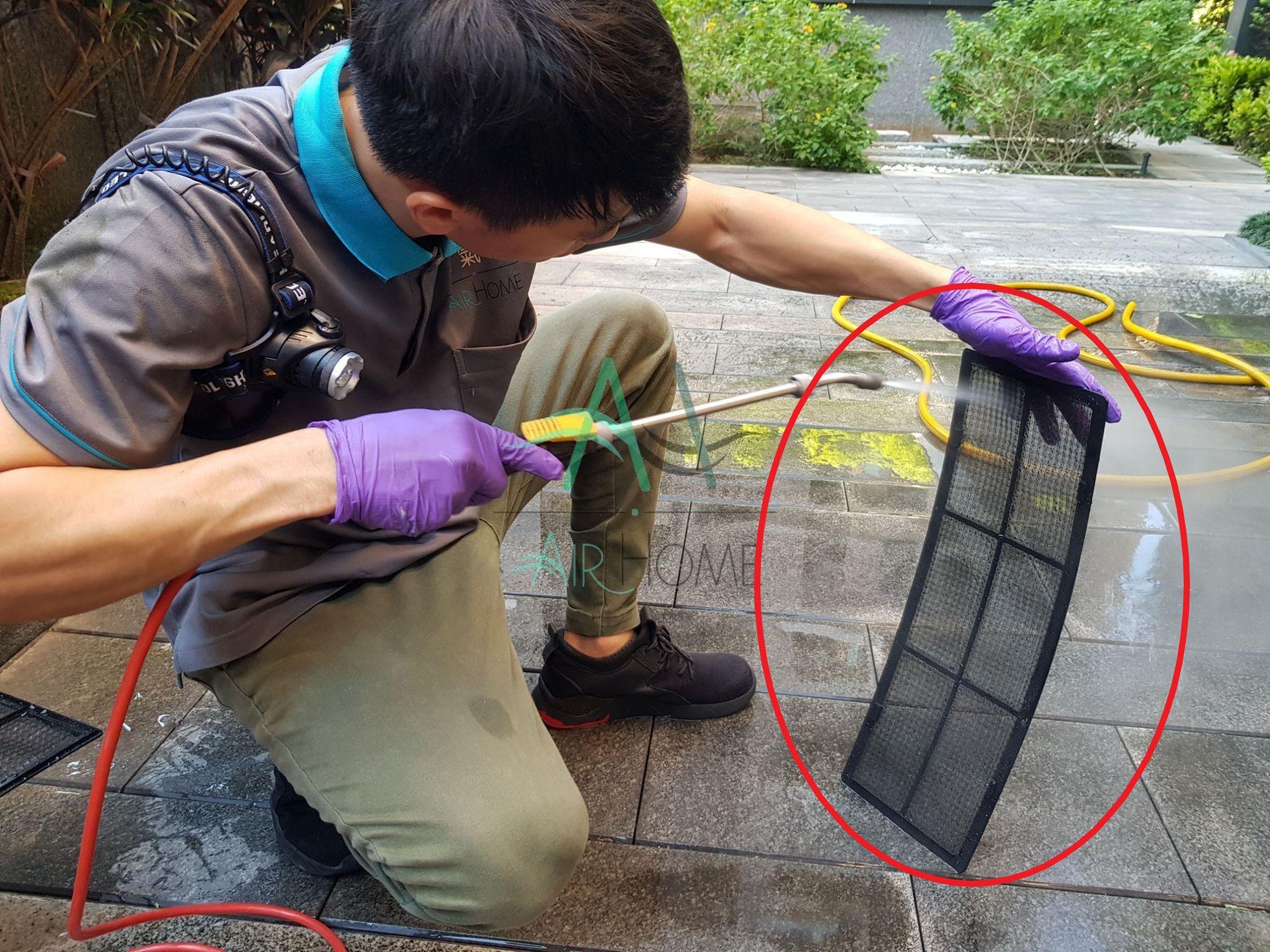 冷氣濾網清洗